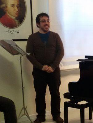 7 marzo 2015 lezione-concerto del maestro Stefano Cau