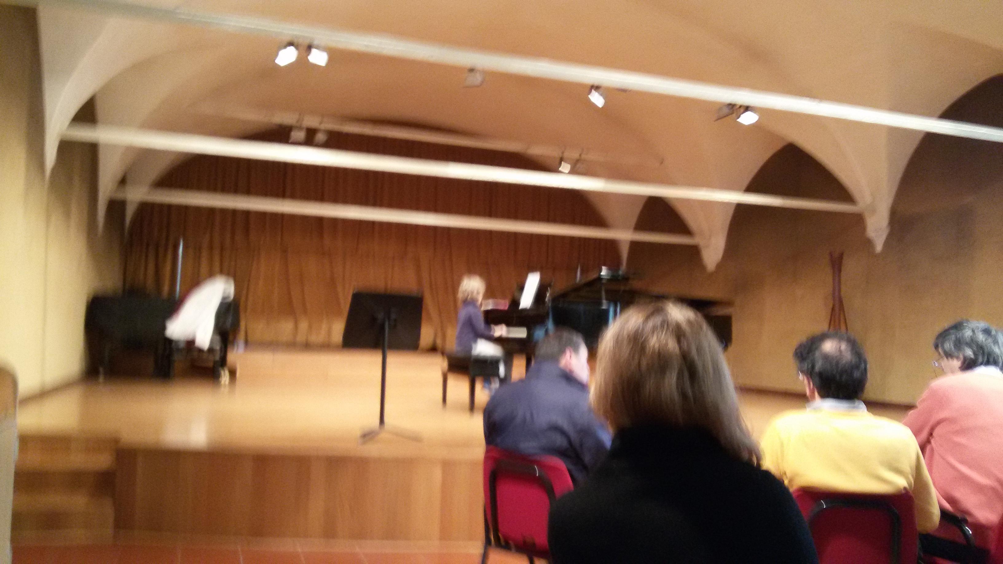 Concorso migliori allievi al Conservatorio A.Pedrollo di Vicenza