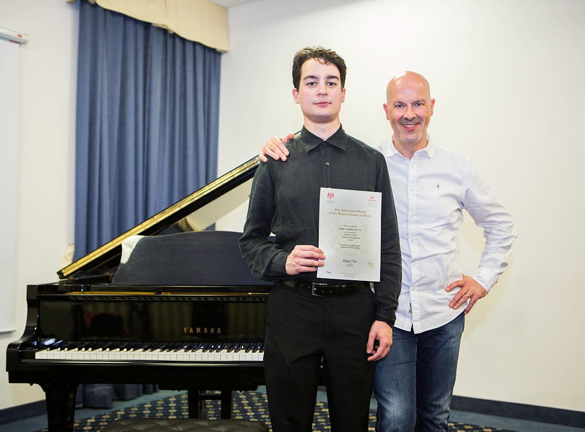Consegna diploma Abrsm Vicenza